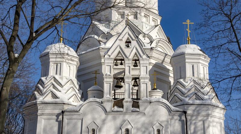 Храм Усекновения главы Иоанна Предтечи в Дьякове г. Москвы -2